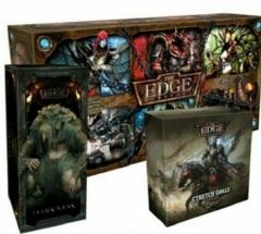The Edge - Dawnfall: board game V1.6 warchest darkness expansion kickstarter stretch goals box