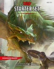 D&D Next 5th edition: 5e Dungeons and Dragons RPG Starter Set box