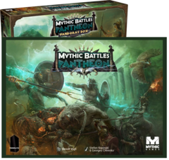 Mythic Battles: Pantheon 1.5e + Pandora's box board game kickstarter monolith