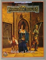 AD&D Dungeons & Dragons RPG: Forgotten Realms Book of Lairs
