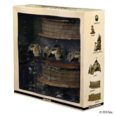 Pathfinder Battles miniatures: Goblin Village Legendary Adventures promo set