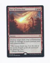 Star of Extinction - Foil Promo Prerelease