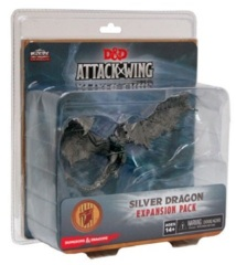 D&D Dungeons & Dragons Attack Wing: Silver Dragon expansion pack