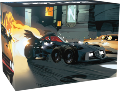 Batman - Gotham City Chronicles: Batmobile expansion board game kickstarter exclusive monolith