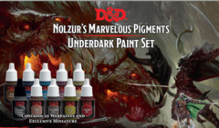 Nolzur's Marvelous Pigments: PRESALE Underdark Paint Set