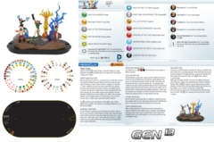 Heroclix Gen13 (T004) NO MINIS team base/dial/map only Teen Titans