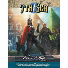 7th Sea RPG: 2nd edition Nations of Theah hardcover