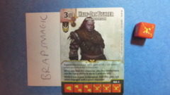 Dungeons & Dragons Dice Masters: Half-Orc Fighter, Paragon Zhentarim (rare)