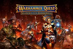 Warhammer Quest: Shadows Over Hammerhal board game games workshop
