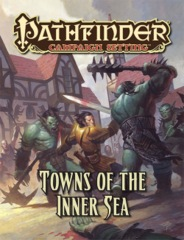 Pathfinder Campaign Setting RPG Roleplaying Game: Towns of the Inner Sea
