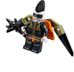 LEGO Ninjago: Jet Jack minifigure + jet pack + spear 70650 authentic