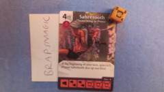 Marvel Dice Masters: Sabretooth, Something to Prove #53 (common)