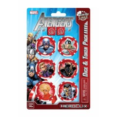 Heroclix: Avengers Assemble Dice and Token Pack (captain america)