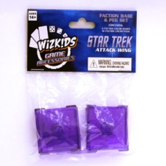 Star Trek Attack Wing: Dominion (Purple) faction  base peg set wizkids