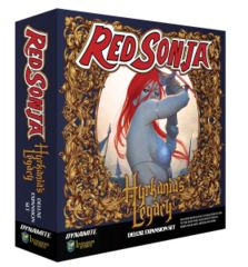 Red Sonja: PRESALE Hyrkanias Legacy Deluxe Board Game Expansion