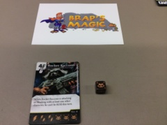 Marvel Dice Masters: Rocket Raccoon, Smartest Mammal #126 (rare)
