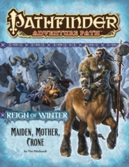 Pathfinder Adventure Path #69 Reign of Winter chapter 3: