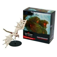 D&D miniatures: incentive promo GARGANTUAN White Dracolich Rage of Demons promo
