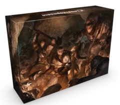 Claustrophobia 1643: board game kickstarter exclusive limited edition Monolith