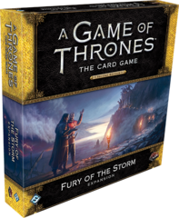 A Game of Thrones LCG: 2nd edition PRESALE Fury of the Storm deluxe expansion FFG