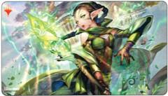MTG War of the Spark playmat Nissa japanese alternate art ultra pro