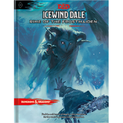 D&D 5th edition: Icewind Dale - Rime of the Frostmaiden REGULAR COVER EDITION