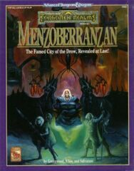 AD&D Dungeons & Dragons RPG: Forgotten Realms - Menzoberranzan boxed set 99% complete