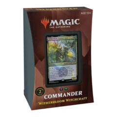 MTG - Commander 2021: Witherbloom Witchcraft complete deck