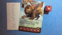 Dungeons & Dragons Dice Masters: Manticore, Paragon (rare)