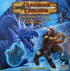 Dungeons & Dragons: Eternal Winter expansion Fantasy Adventure Board Game parker brothers