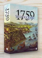 1759 - Siege of Quebec: PRESALE board game worthington