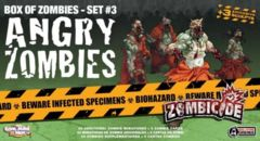 Zombicide: Angry Zombies expansion box of zombies set 3