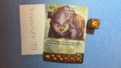 Dungeons & Dragons Dice Masters: Owlbear, Paragon (rare)