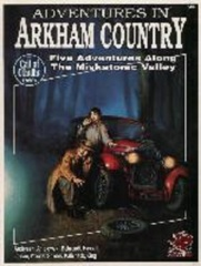 Call of Cthulh RPG: Adventures in Arkham Country chaosium
