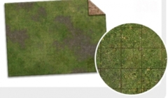 Monster Game Mat Adventure Grid: PRESALE 6'x4' Broken Grassland/Desert Scrubland dry erase battlemat