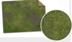 Monster Game Mat Adventure Grid: PRESALE 6'x4' Broken Grassland/Desert Scrubland dry erase battlemat