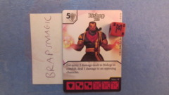 Marvel Dice Masters: Bishop, XSE #97 (rare)