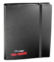 Ultra Pro: premium Pro-Binder 9-pocket pages BLACK 82600