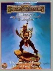 AD&D Dungeons & Dragons RPG: Elminster's Ecologies - Battle of Bones Hill of Lost Souls TSR