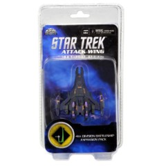 Star Trek Attack Wing: Dominion 4th Division Battleship expansion pack wizkids