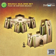 Plastic Craft Games: Bourak Building Set (28mm gaming terrain) INF017
