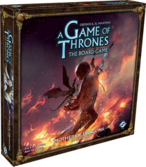 A Game of Thrones LCG: 2nd Edition PRESALE Mother of Dragons deluxe expansion ffg