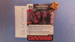 Marvel Dice Masters: Sabretooth, Superpowered #113 (rare)