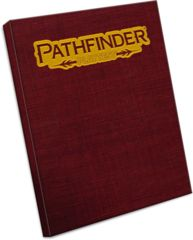 Pathfinder RPG 2nd Edition: base/core Rulebook PLAYTEST special faux leather paizo