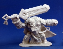 Reaper Bones Miniatures: Skorg Ironskull, Fire Giant King 77101