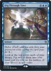 Dig Through Time - Foil Prerelease Promo