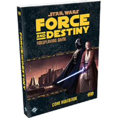 Star Wars RPG: Force and Destiny base/core rulebook FFG