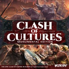 Clash of Cultures - Monumental Edition: board game wizkids