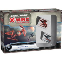 Star Wars X-Wing miniatures game Imperial Aces expansion fantasy flight