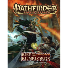 Pathfinder RPG: adventure path Rise of the Runelords anniversary ed. hardcover